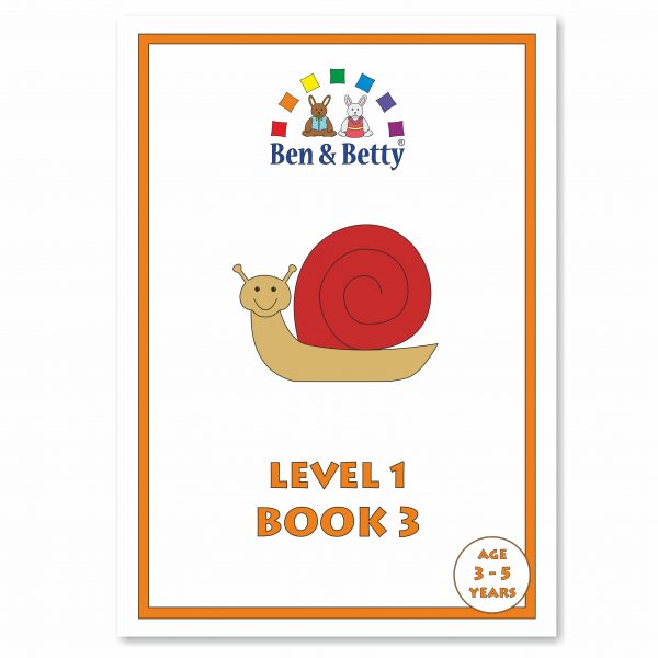 Ben & Betty Level 1 Book 3