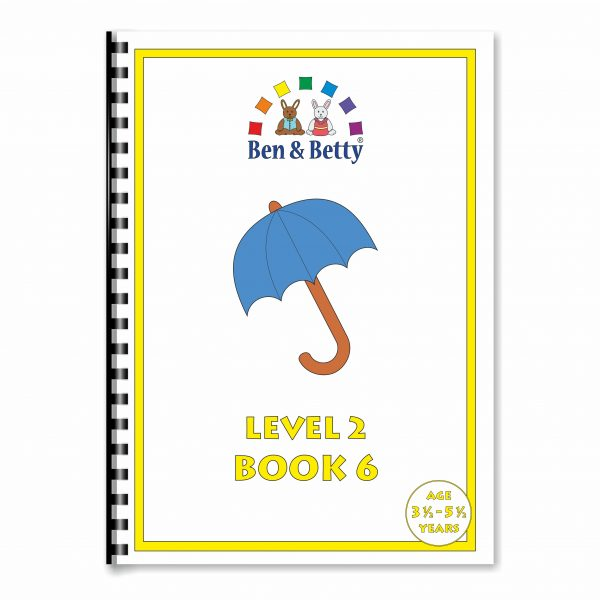 Ben & Betty Level 2 Book 6