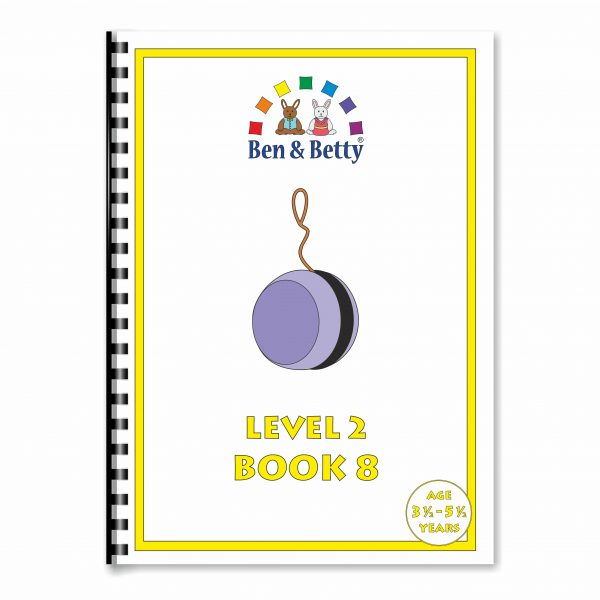 Ben & Betty Level 2 Book 8