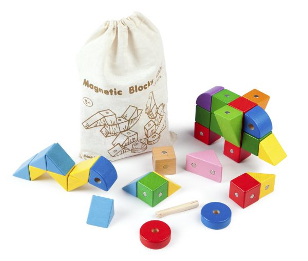 Magnetic Blocks game