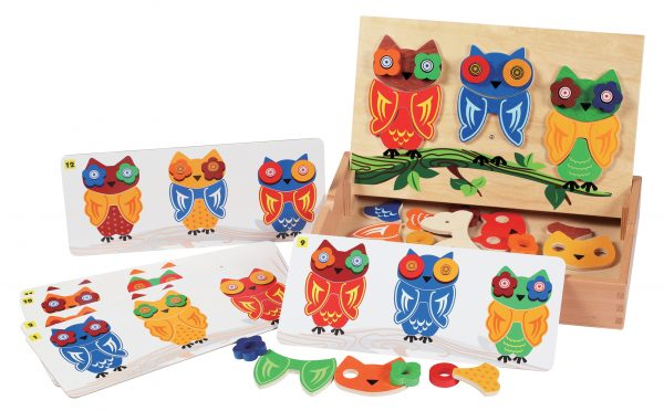 Mix n Match Owls game